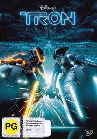 Tron: Legacy on DVD