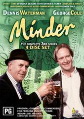 Minder - The Complete 3rd Series (4 Disc Box Set) on DVD