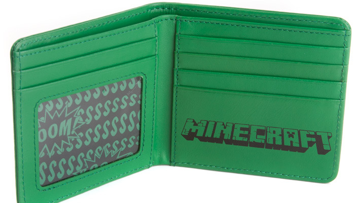 Minecraft Creeper Face Wallet image