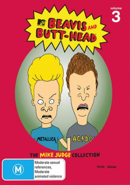Beavis And Butt-Head - The Mike Judge Collection: Vol. 3 (3 Disc Set) on DVD
