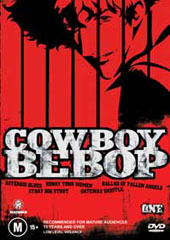 Cowboy Bebop - 1 on DVD
