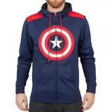 Marvel Captain America Hoodie (Large)