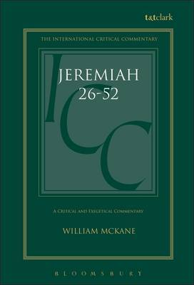 Jeremiah: v. 2 by William McKane