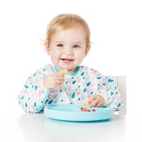 Bumkins: Silicone Grip Dish - Blue image