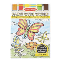 Melissa & Doug: Paint with Water Art Pad Garden