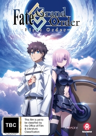 Fate/Grand Order - First Order on DVD
