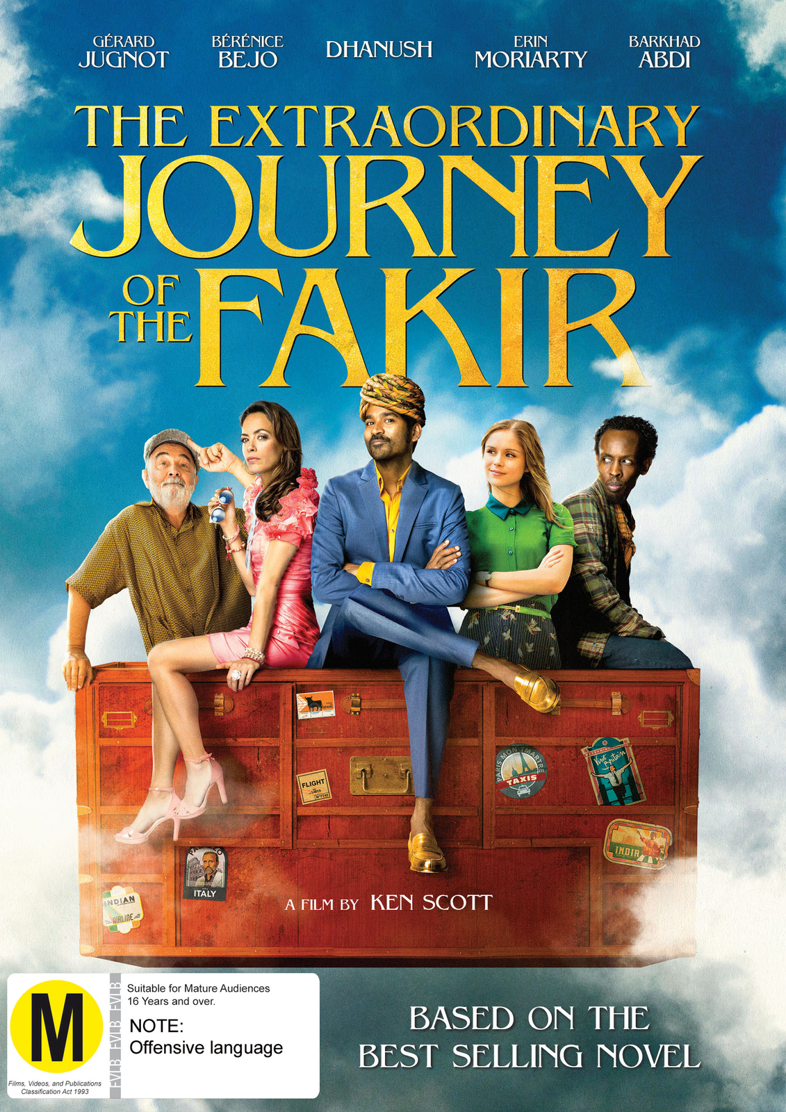The Extraordinary Journey Of The Fakir on DVD image