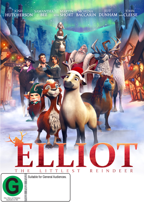 Elliot: The Littlest Reindeer on DVD