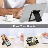 Foldable Phone Stand - Black