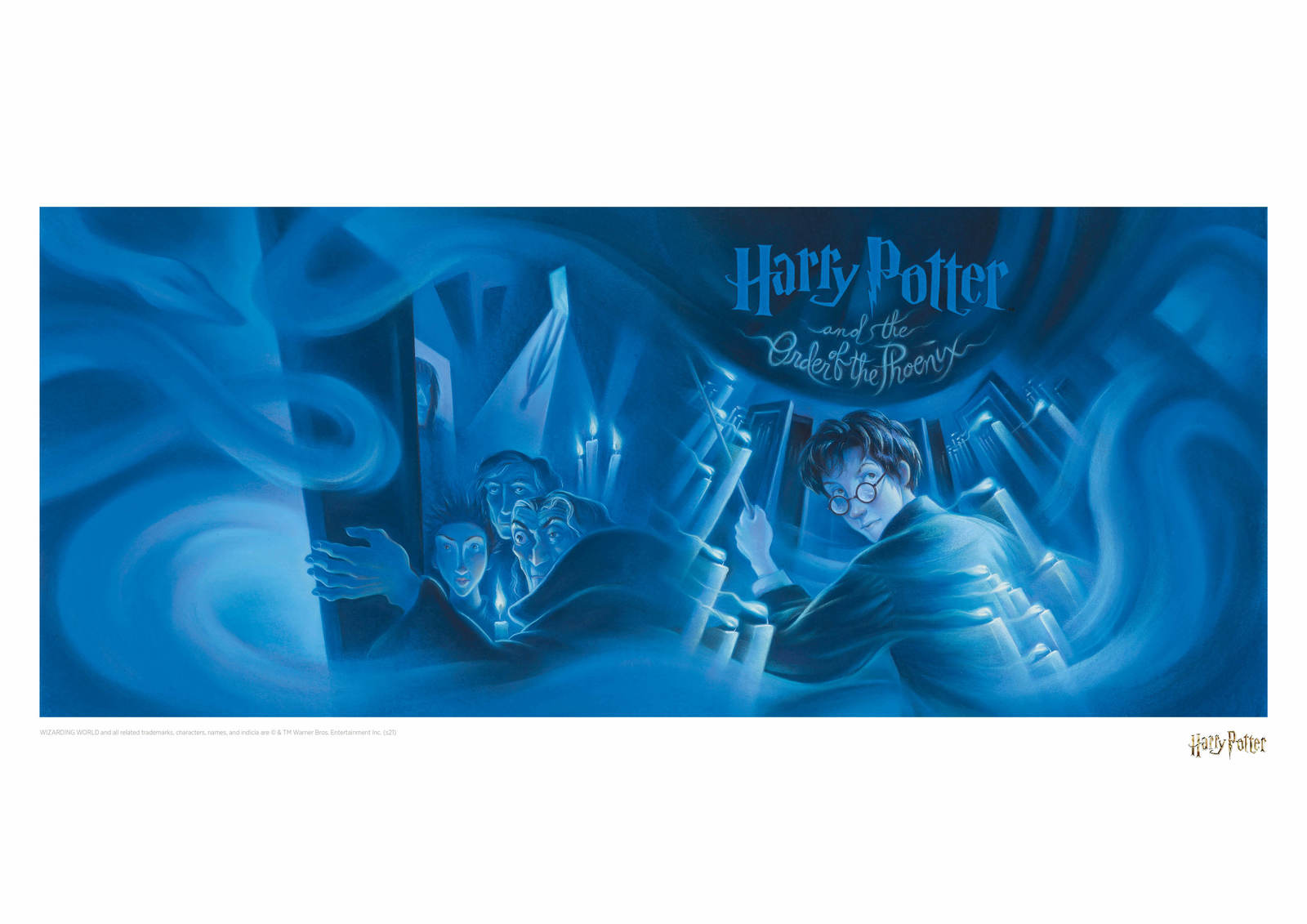 Harry Potter: Order of the Phoenix - Book Cover Artwork image