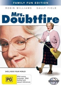 Mrs Doubtfire - Family Fun Edition (2 Disc Set) on DVD image