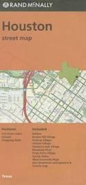 Folded Map Houston TX by Rand McNally