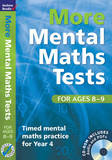 More Mental Maths Tests for Ages 8-9: Timed Mental Maths Practice for Year 4 by Andrew Brodie