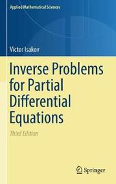 Inverse Problems for Partial Differential Equations by Victor Isakov image