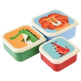 Rex Snack Boxes (Colourful Creatures, Set of 3)