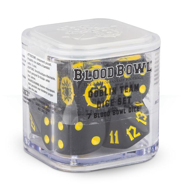 Blood Bowl Goblin Dice
