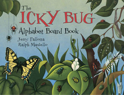 The Icky Bug Alphabet Board Book by Jerry Pallotta image