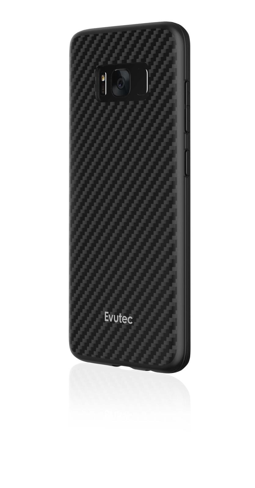 half off 5e73b 63f46 Evutec Samsung S8 AER Karbon Case with AFIX - Black