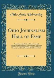 Ohio Journalism Hall of Fame by Ohio State University image