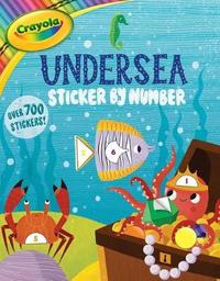 Crayola Undersea Sticker by Number by Buzzpop