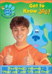 Blue's Clues - Get To Know Joe on DVD