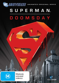 Superman - Doomsday on DVD image