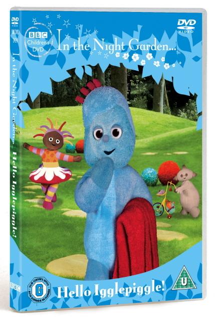In The Night Garden Hello Igglepiggle on DVD