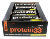 Horleys Protein 33 Bars - Tropical Crush (12 x 60g Pack)