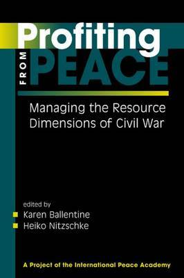 Profiting from Peace by Karen Ballentine image