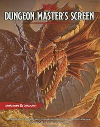 D&D Dungeon Master's Screen by Wizards RPG Team