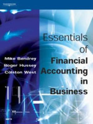 Essentials of Financial Accounting in Business by Mike Bendrey image