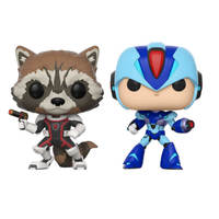 MVC: Infinite - Rocket vs Mega Man X Pop! Vinyl 2-Pack