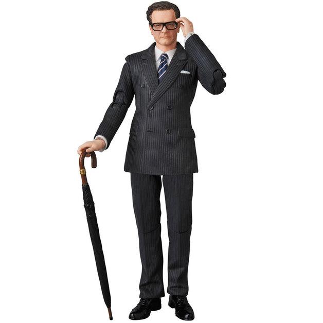"Kingsman: Harry ""Galahad"" Hart - MAFEX Action Figure"