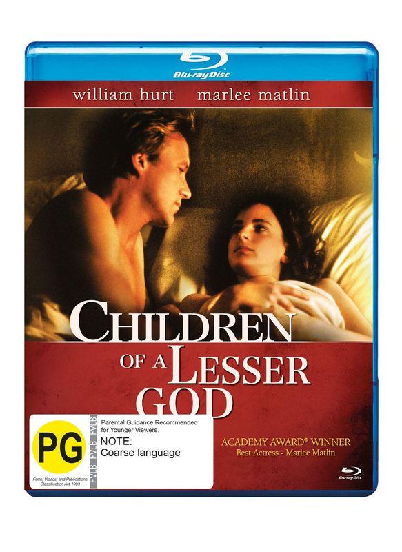 Children of A Lesser God on Blu-ray
