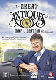 The Great Antiques Map of Britain on DVD