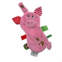 Label Label Pacifier Blanket - Pig