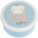 Round Woodland Friends Owl Box (Small)