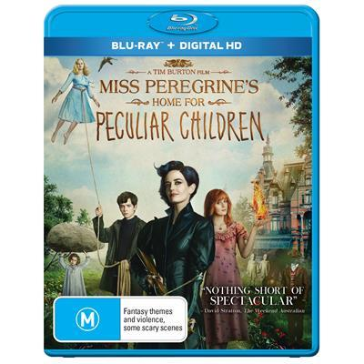 Miss Peregrine's Home For Peculiar Children on Blu-ray image