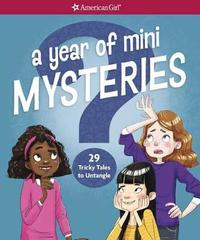 A Year of Mini Mysteries by Kathy Passero image
