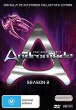 Andromeda (Gene Roddenberry's) - Season 3: Digitally Re-Mastered Collector's Edition (6 Disc Set) on DVD