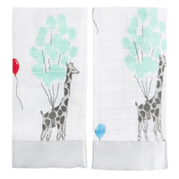 Aden + Anais: Classic Security Blankets - Dream Ride (2 Pack)