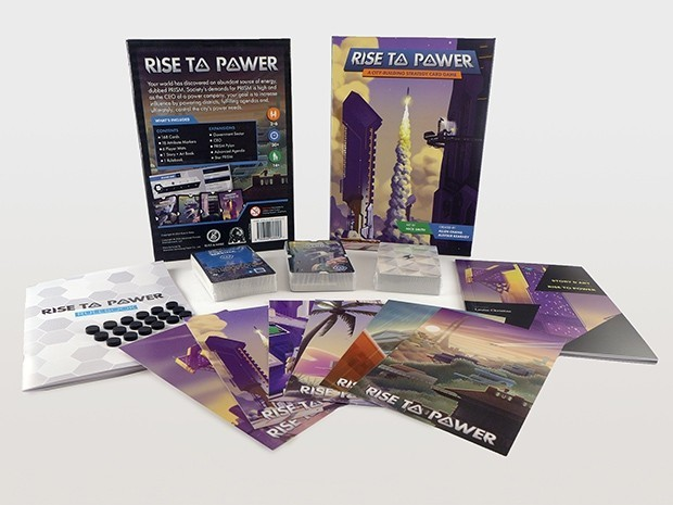 Rise to Power - Board Game image