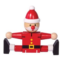 IS Gifts: Flexible Santa - Classic Christmas Toy