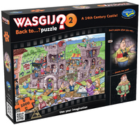 Wasgij: Back To Puzzle - 14th Century Castle 1000pce image