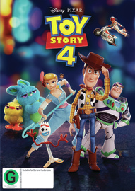 Toy Story 4 on DVD image
