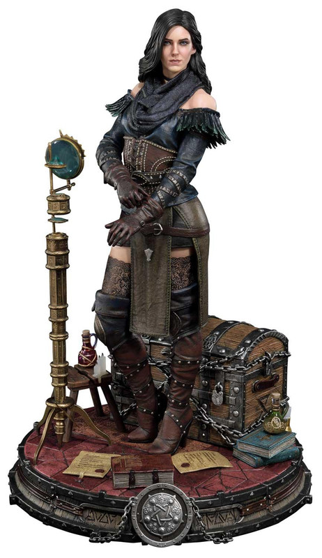 "The Witcher 3: Yennefer of Vengerberg [Alternative Outfit] - 20"" Premium Statue"