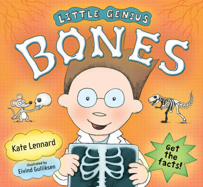 Little Genius: Bones by Kate Lennard image