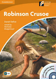 Robinson Crusoe Level 4 Intermediate Book with CD-ROM and Audio CDs (2): Level 4 by Daniel Defoe
