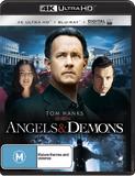 Angels & Demons (4K UHD + Blu-ray + Digital) DVD