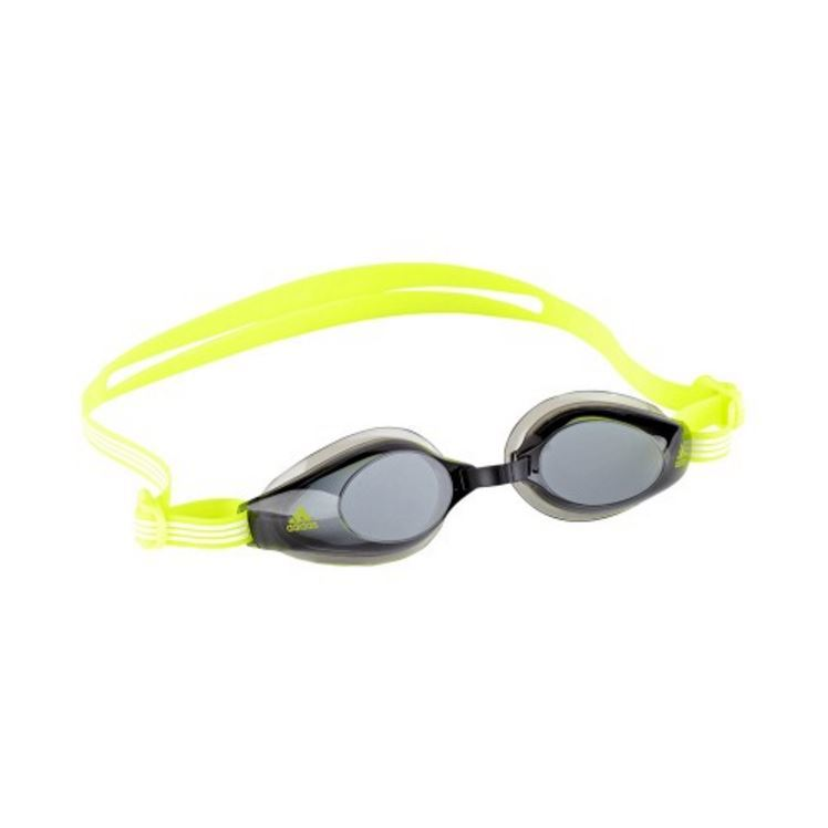 Adidas Aquastorm Goggles - Smoke Lens (Neon Yellow) image